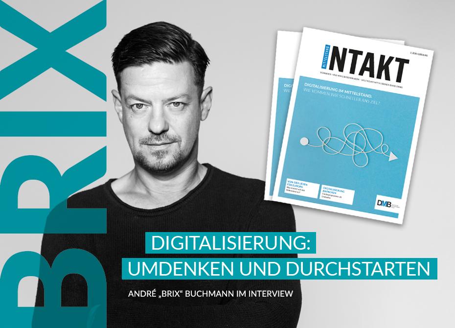 Die neue Ausgabe der DMB Mittelstand INTAKT ist da!