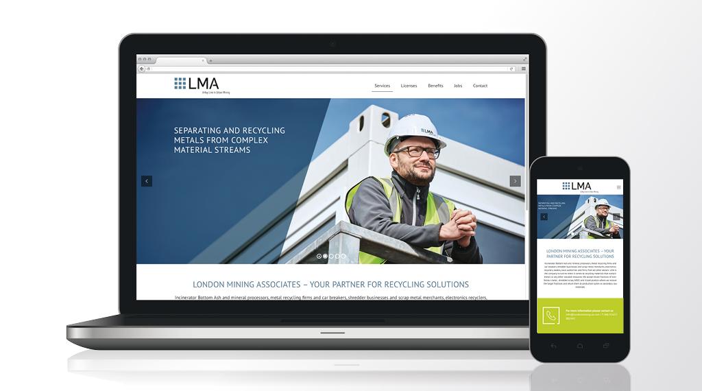 Wer redet von Brexit? Unsere neuer Kunde heißt London Mining Associates Ltd. (LMA), Großbritannien.