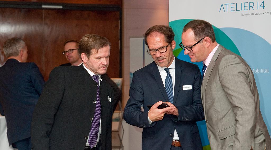 Mit Elmar Niederhaus und Dr. Roman Suthold (ADAC Nordrhein)