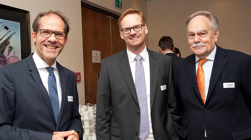 Mit Harald Müsse (ehem. Managing Director Verlagsgruppe Handelsblatt)