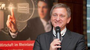 Professor Dr. Gerhard Nowak (Veranstalter des Wirtschaftsforums)